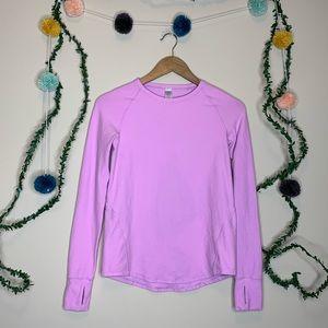 Lululemon Ivivva Pink Athletic Long Sleeve Shirt